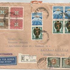 Sellos: 1963 - SOBRE VOLADO CON DESTINO COLOMBIA - ITALIA. Lote 50661743