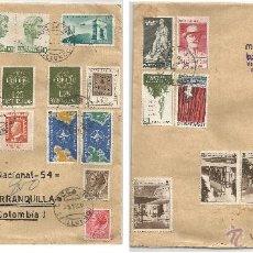Sellos: 1959 - CARTA VOLADA DE ITALIA A COLOMBIA - ITALIA. Lote 50661839