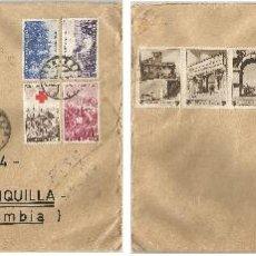Sellos: 1962 - CARTA VOLADA DE ITALIA A COLOMBIA - ITALIA. Lote 50661842