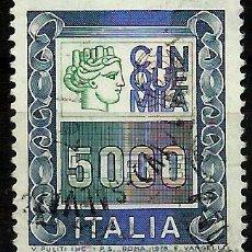 Sellos: ITALIA 1979- YV 1371. Lote 50796655