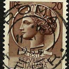Sellos: ITALIA 1953- YV 0651. Lote 50861127