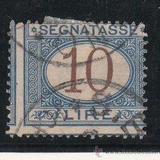 Sellos: ITALIA TASA 18 USADA, . Lote 51017581