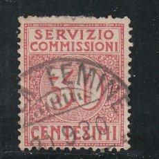 Sellos: ITALIA SERVICIO 9 USADA, . Lote 51017607