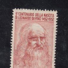 Sellos: ITALIA 626 CON CHARNELA, V CENTº NACIMIENTO LEONARDO DE VINCI. Lote 51034027