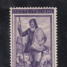 Sellos: ITALIA 585 CON CHARNELA, TRABAJO, PASTOR, . Lote 51034640