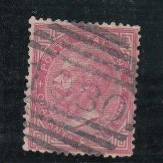Sellos: ITALIA 19 USADA MATº INGLES, VICTOR MANUEL II,. Lote 51110355