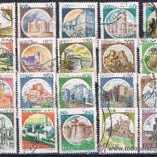 Sellos: ITALIA - LOTE 20 SELLOS - EDIFICIOS (USADO) LOTE 3. Lote 52658058