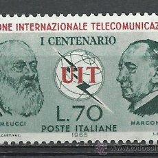 Sellos: ITALIA - 1965 - MICHEL 1180 // SCOTT 909** MNH. Lote 53821690
