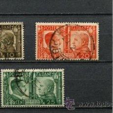 Sellos: SELLOS ANTIGUOS DE LA SEGUNDA GUERRA MUNDIAL AÑO 1941 CON HITLER Y MUSSOLINI ITALIA ALEMANIA NAZI . Lote 54715122