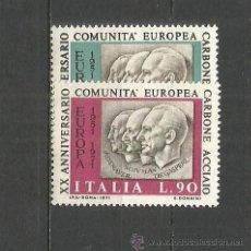 Sellos: ITALIA YVERT NUM. 1070/1071 ** SERIE COMPLETA SIN FIJASELLOS. Lote 55050273