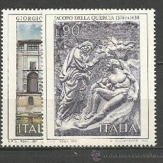 Sellos: ITALIA YVERT NUM. 1208/1209 ** SERIE COMPLETA SIN FIJASELLOS. Lote 55051179