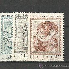 Sellos: ITALIA YVERT NUM. 1216/1218 ** SERIE COMPLETA SIN FIJASELLOS. Lote 55051198