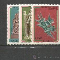 Sellos: ITALIA YVERT NUM. 1219/1221 ** SERIE COMPLETA SIN FIJASELLOS. Lote 55051205