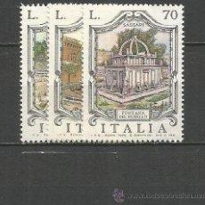 Sellos: ITALIA YVERT NUM. 1237/1239 ** SERIE COMPLETA SIN FIJASELLOS. Lote 55051245