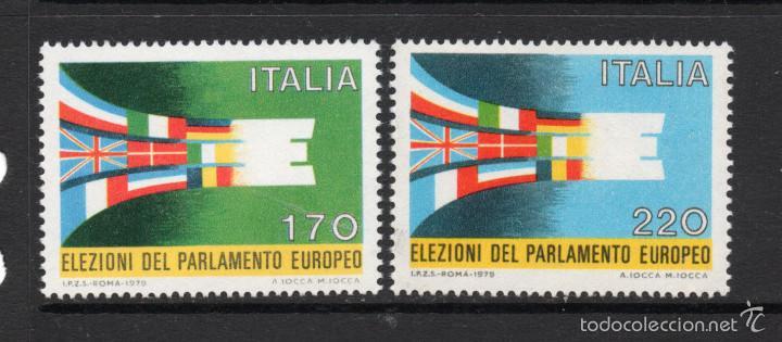 ITALIA 1391/92** - AÑO 1979 - ELECCIONES AL PARLAMENTO EUROPEO (Sellos - Extranjero - Europa - Italia)