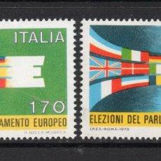 Sellos: ITALIA 1391/92** - AÑO 1979 - ELECCIONES AL PARLAMENTO EUROPEO. Lote 57503151