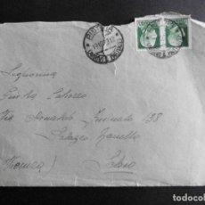Sellos: ITALIA SOBRE CIRCULADO 1929. Lote 70399853