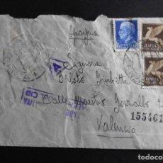 Sellos: ITALIA SOBRE CIRCULADO 1943. Lote 70401361
