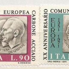 Sellos: 1971 ITALIA. COMUNIDAD EUROPEA DEL CARBÓN Y DEL ACERO. Lote 73037671