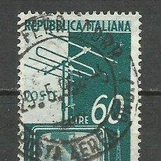 Sellos: ITALIA - 1954 - MICHEL 909 - USADO. Lote 75000159