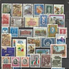 Sellos: G26-LOTE SELLOS ITALIA SIN TASAR,ANTIGUOS Y MODERNOS.ALGUNOS EN EURO. . PUEDE HACER EL PAGO VIA PAY. Lote 77341493