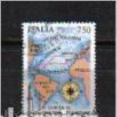 Sellos: COLÓN: CARTA DEL 1ER. VIAJE. ITALIA. SELLO EMIT. EN 1978. Lote 78110073