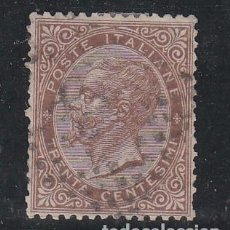 Sellos: ITALIA 20 USADA, VICTOR MANUEL II. Lote 78631701