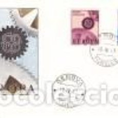 Sellos: SOBRE 1º DIA ITALIA 1967, EUROPA YT 968/ 69. Lote 80312805