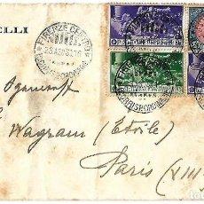 Sellos: ITALIA CARTA ENVIADA DE TURIN A PARIS. Lote 87454984