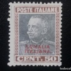 Sellos: SOMALIA, COLONIA ITALIANA, YVERT Nº 110 , NUEVO SIN GOMA , 1928-30. Lote 89359836