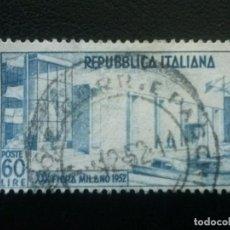 Sellos: ITALIA , YVERT Nº 623 , 1952 , BARCOS. Lote 89363608