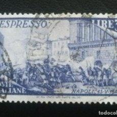Sellos: ITALIA , CORREO URGENTE EXPRES , YVERT Nº 35 , 1948. Lote 89365424
