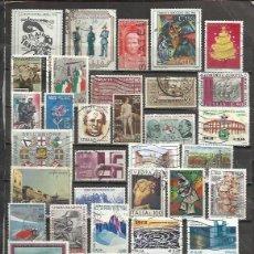 Sellos: Q734-LOTE SELLOS ITALIA SIN TASAR,ANTIGUOS Y MODERNOS.ALGUNOS EN EURO.. Lote 95140051