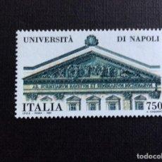Sellos: ITALIA Nº YVERT 1936*** AÑO 1992. UNIVERSIDAD DE NAPOLES. Lote 97814179