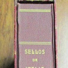 Sellos: ALBUM DE SELLOS DE ITALIA CON SELLOS NUEVOS Y USADOS ENTRE 1932 Y 1982. LOTE 0002. Lote 98193383