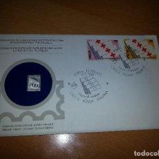 Sellos: SOBRE PRIMER DIA CON LINGOTE DE PLATA. ITALIA MAYO 1980. EMISIÓN PROOF LIMITADA.. Lote 98774691