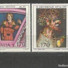 Timbres: ITALIA YVERT NUM. 1309/1310 ** SERIE COMPLETA SIN FIJASELLOS. Lote 240011700