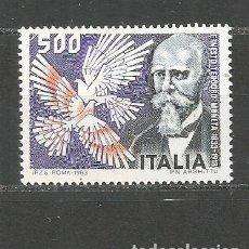 Sellos: ITALIA YVERT NUM. 1576 ** SERIE COMPLETA SIN FIJASELLOS. Lote 99663899