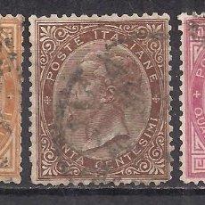 Sellos: ITALIA 1863 - USADO. Lote 101625419