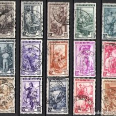 Sellos: ITALIA 1950 - USADO. Lote 101674435