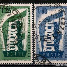 Sellos: ITALIA 1956 - USADO. Lote 101686215