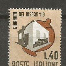 Sellos: ITALIA YVERT NUM. 934 ** SERIE COMPLETA SIN FIJASELLOS. Lote 103791871