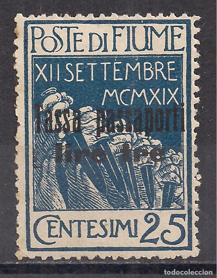 ITALIA, FIUME 1920 - NUEVO (Sellos - Extranjero - Europa - Italia)