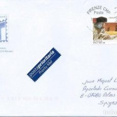 Sellos: 2006. ITALIA/ITALY. CIRCULADO CON SELLO CENTº MUERTE CRISTÓBAL COLÓN. COLUMBUS. HISTORIA/HISTORY.. Lote 113221523