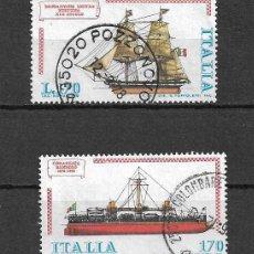Timbres: BARCOS DE ITALIA. SELLOS AÑOS 1978/9. Lote 117456475