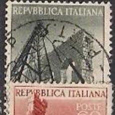 Sellos: SELLOS USADOS DE ITALIA, YT 692/ 93. Lote 127944359