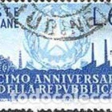 Sellos: SELLO USADO DE ITALIA, YT 727. Lote 127944679