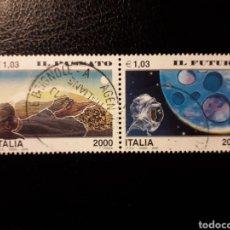 Sellos: ITALIA. YVERT 2398/400. SERIE COMPLETA USADA. PASADO Y FUTURO. Lote 128591135