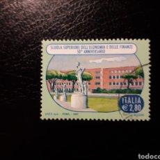 Sellos: ITALIA. YVERT 2936. SERIE COMPLETA USADA. ESCUELA SUPERIOR DE ECONOMÍA Y FINANZAS. Lote 128591243