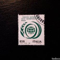 Sellos: ITALIA. YVERT 2204. SERIE COMPLETA USADA. ALIMENTACIÓN. Lote 128679931